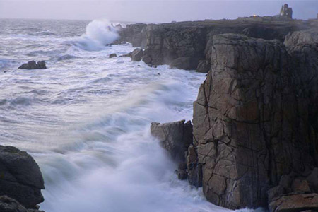 côte sauvage océan atlantique